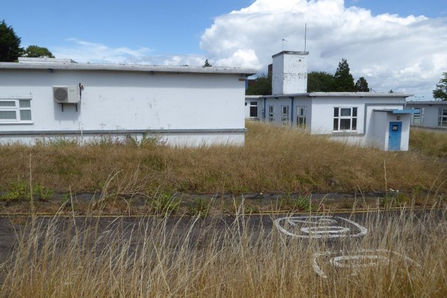 Buildings in the former QinetiQ site