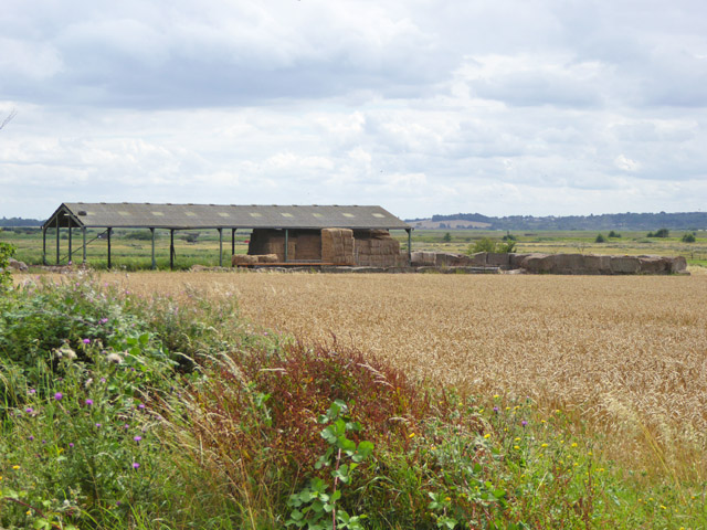 Hay barn, Marsh House Farm