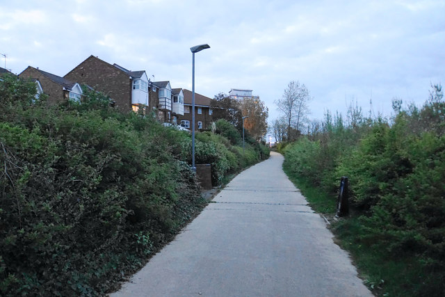 The English Coast Path near the River Wear