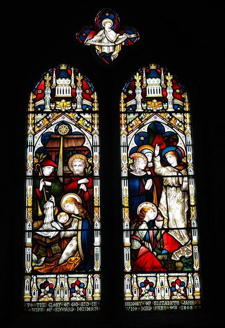 East window, All Saints' Church, Lopen