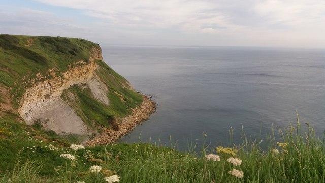 Cunstone Nab from Newbiggin Cliff