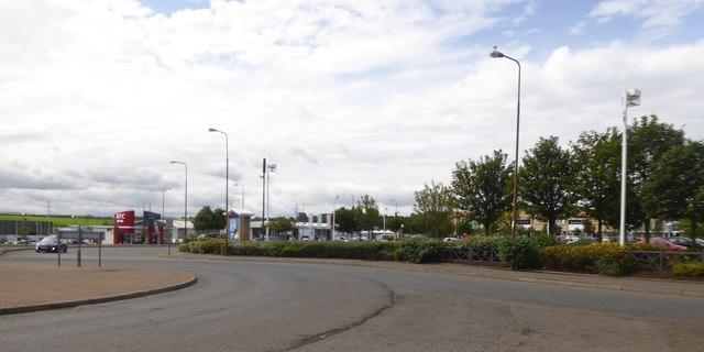 Part of Fort Kinnaird retail park