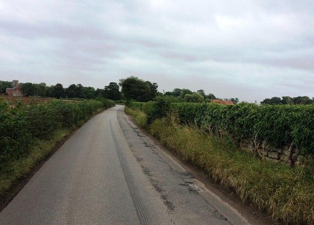 Thorpe Lane near Shireoaks