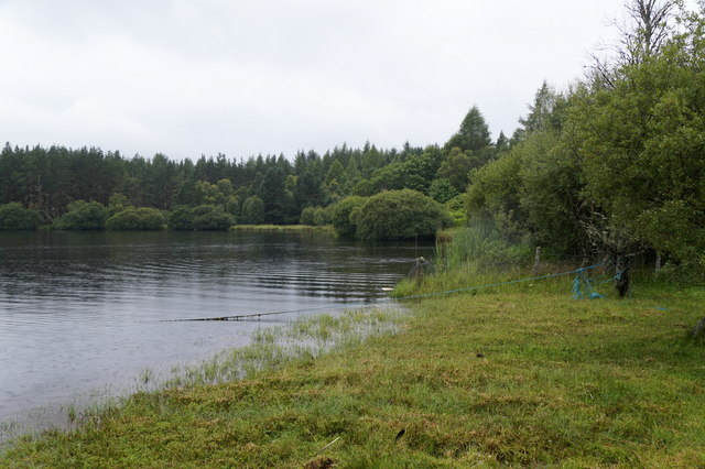 West end of Loch Moy