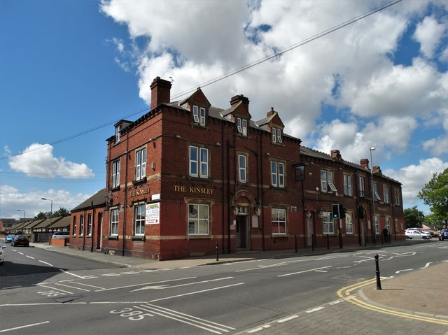 The Kinsley public house in Kinsley