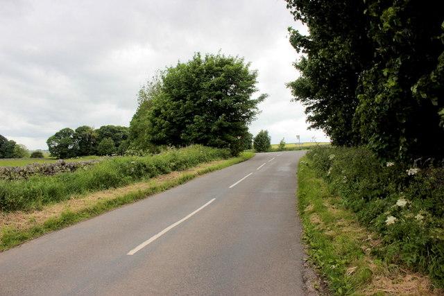 Road Junction Near Haddon Grove Farm