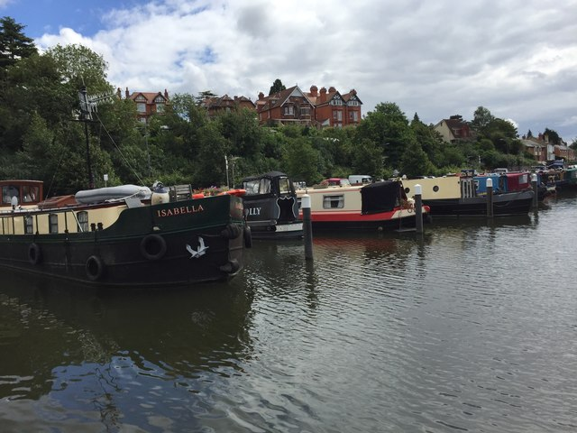 Barges in Diglis Basin