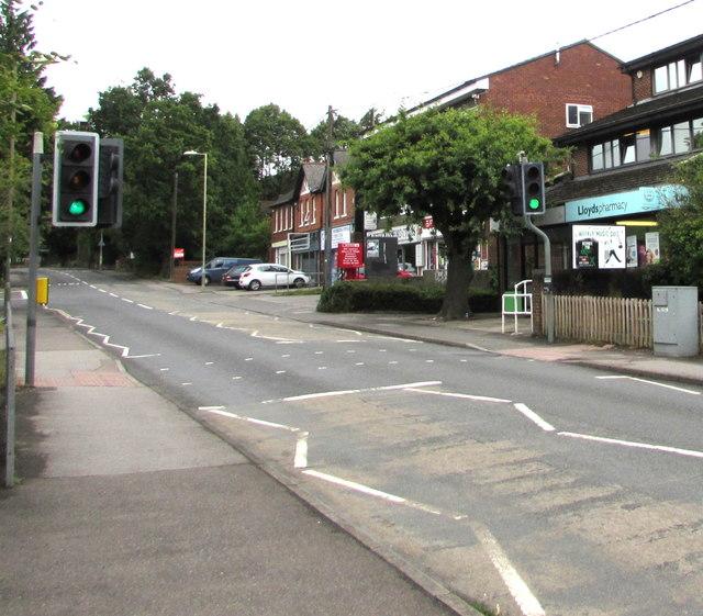 Hursley Road pelican crossing, Chandler's Ford
