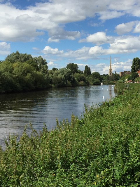 View along the River Severn