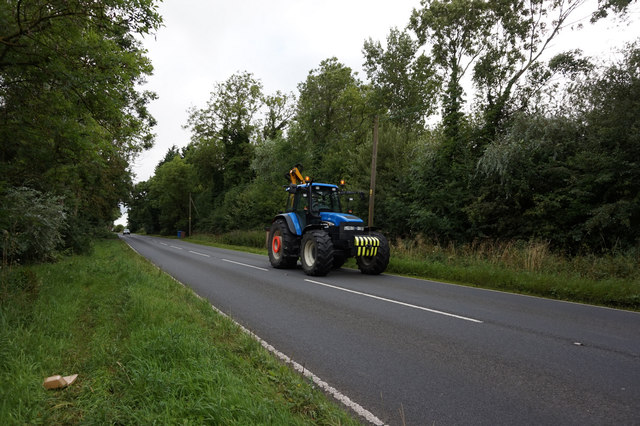 Verge grass cutting on Wood Lane, North Howden