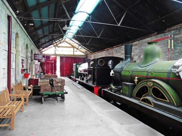 Interior, Kirkby Stephen East railway Station