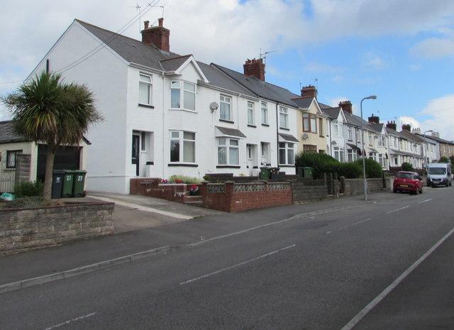 West side of Church Road, Rumney, Cardiff