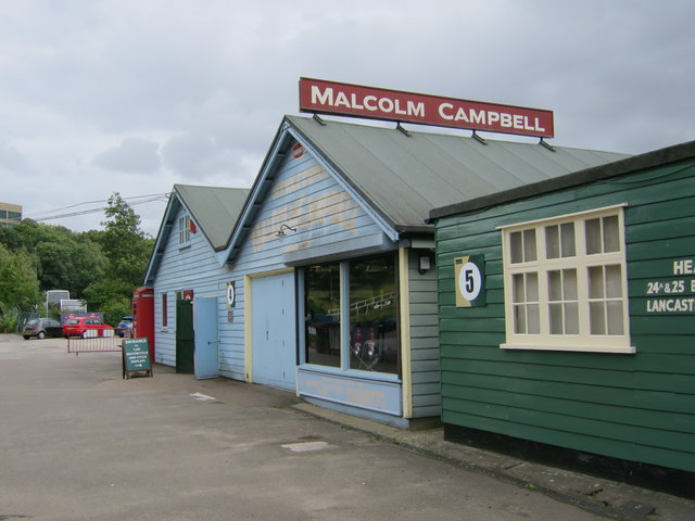Malcolm Campbell Shed, Brooklands