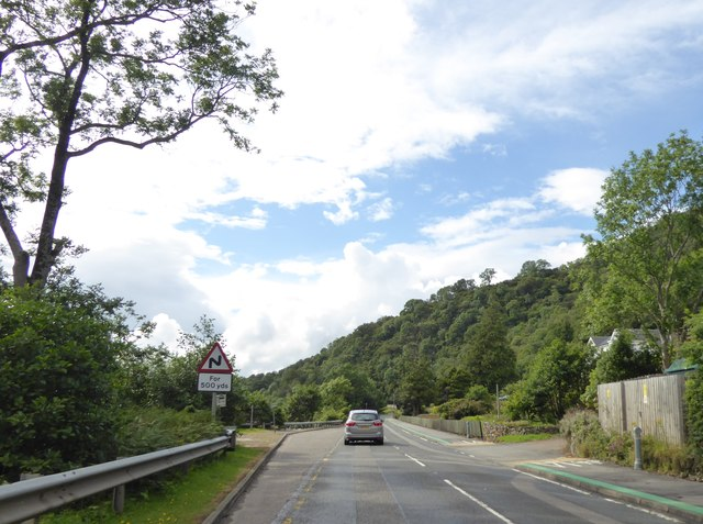A82 at North Ballachulish