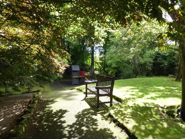 Playground corner, Johnston Gardens