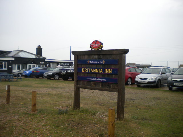 Welcome to the Britannia Inn, Dungeness
