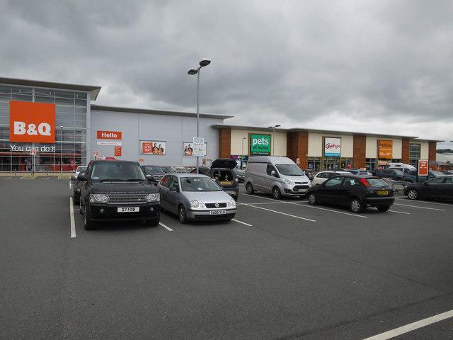 Castle Retail Park, Penrith