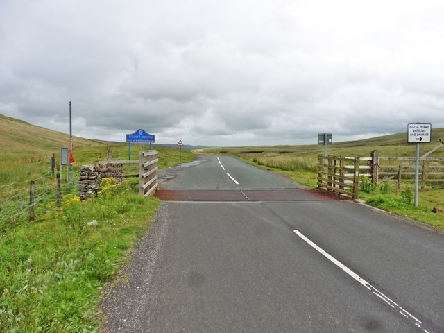 Cattle Grid on the B6276