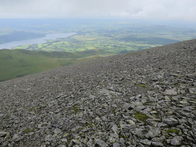 Flanks of Skiddaw