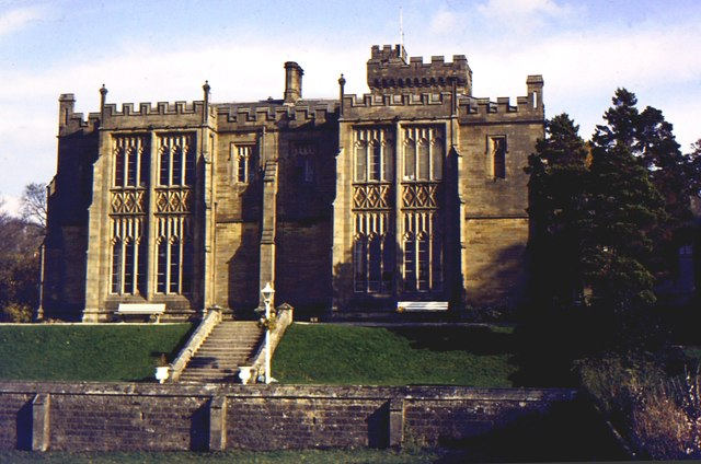 West elevation of Capernwray Hall