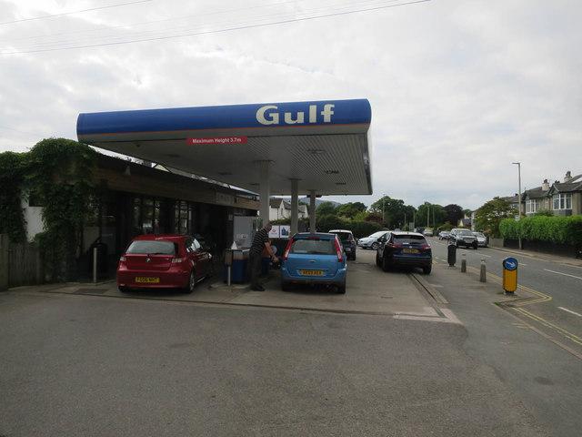 Gulf petrol station, Keswick