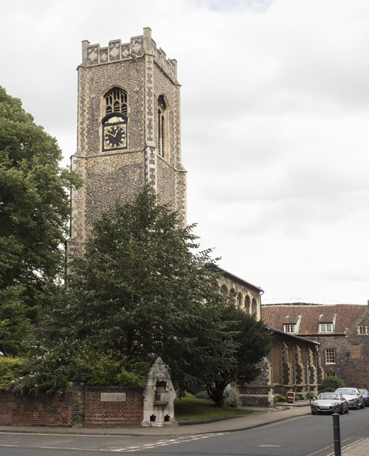 St George Colegate, Norwich