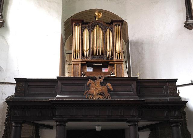 St George Colegate, Norwich - Organ