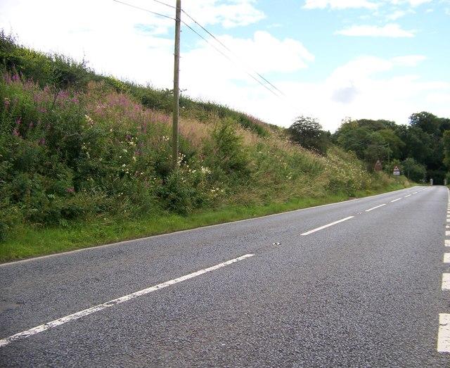 A735 south of Stewarton