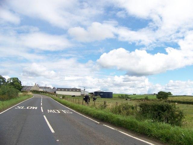 Lochside Farm, south of Stewarton