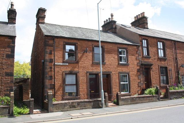 Houses on Arthur Terrace