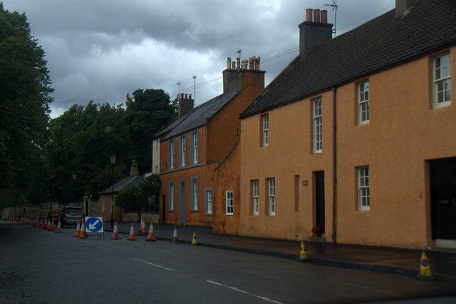 Houses on Inveresk Village Road, Musselburgh