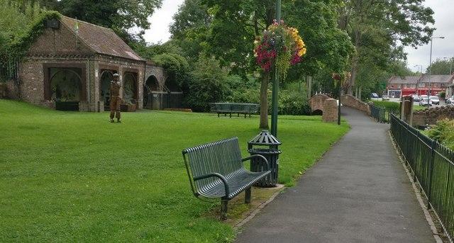 Broadwaters Park in Kidderminster