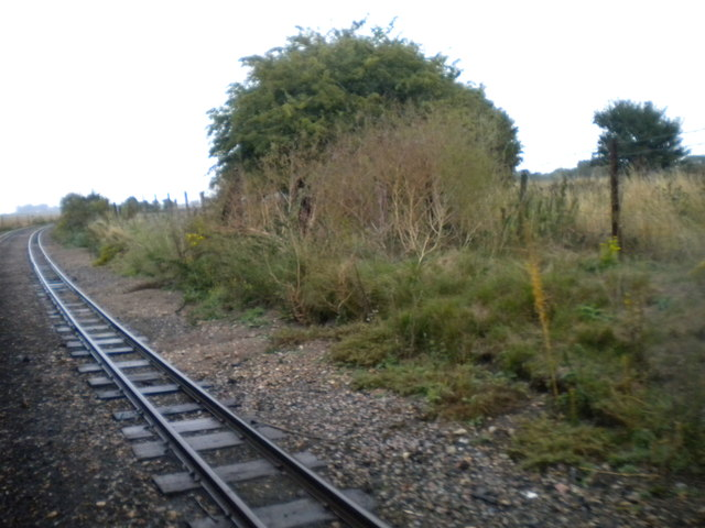 Railway near Romney Warren Country Park