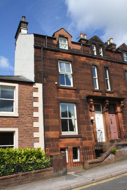 Houses on Arthur Street