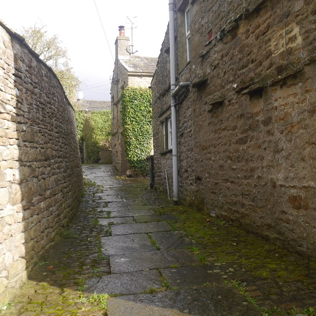 Path in Askrigg