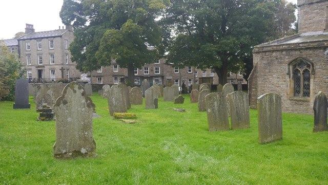 Church yard, Askrigg