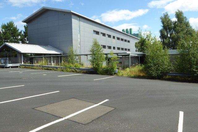 Disused QinetiQ building