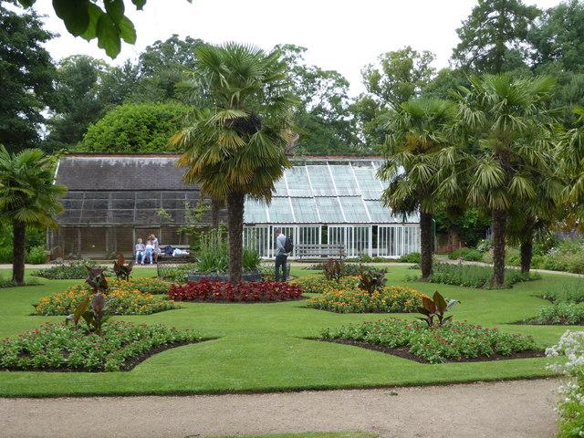 Formal gardens Calke Abbey