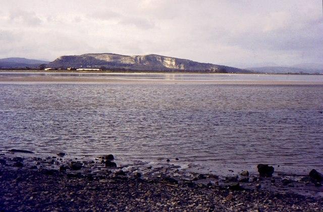 Whitbarrow seen from Sandside