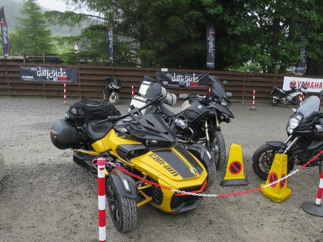 Trike and bikes, Tyndrum