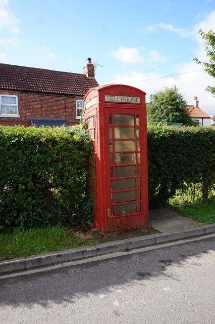 Telephone kiosk, Ings Lane, Spaldington