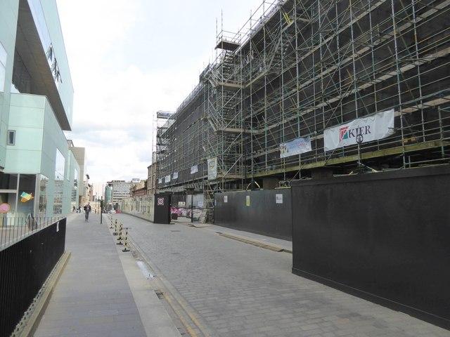 Reconstruction at Glasgow School of Art