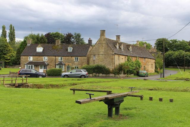 The old see-saw on Bledington green
