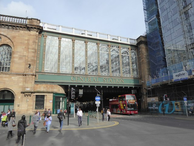 Argyle Street and Glasgow Central station overbridge