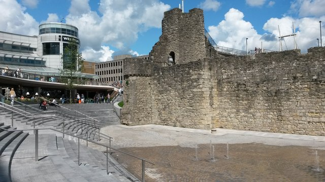 Arundel Tower and Westquay