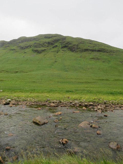 Looking across River Cononish