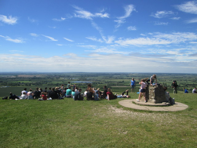 Busy day at Ivinghoe Beacon