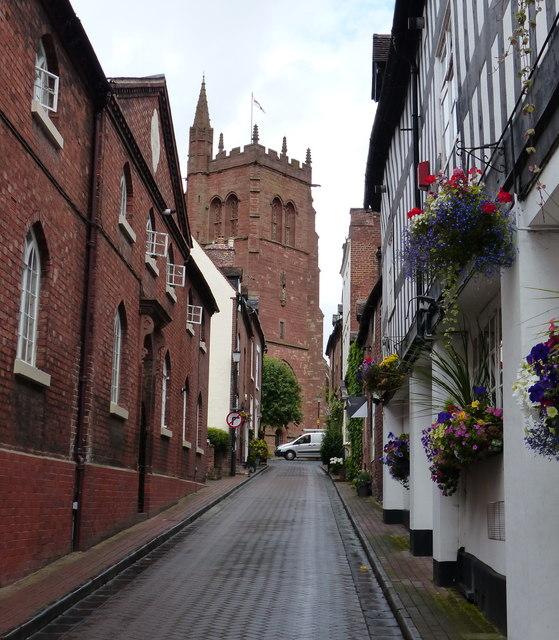 Church Street in the High Town of Bridgnorth