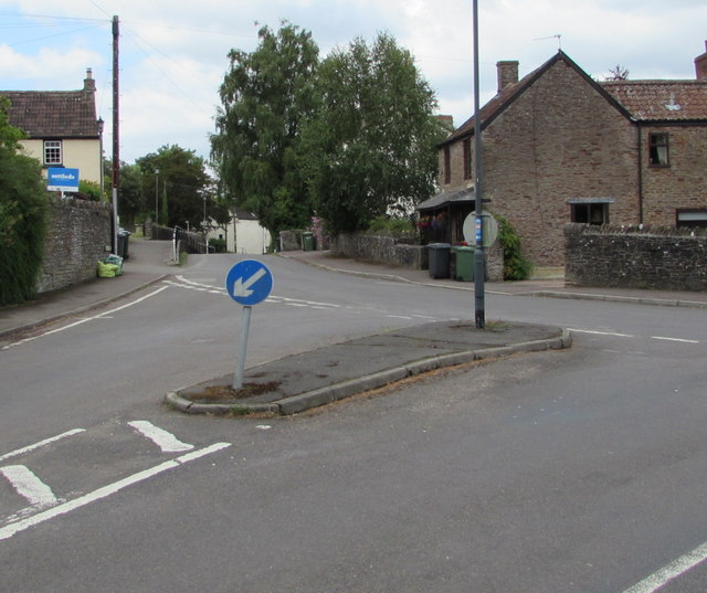 Junction of Holly Hill and Wotton Road, Iron Acton