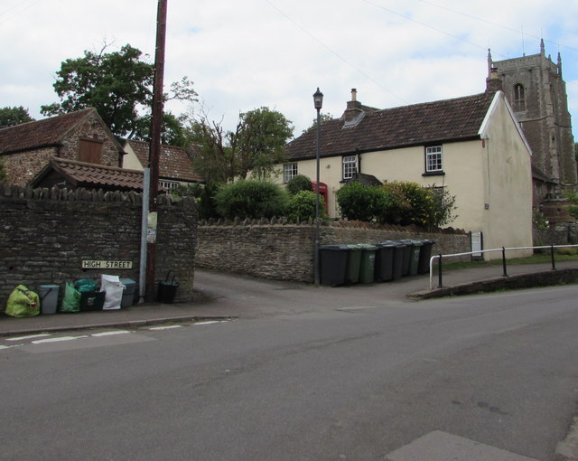 Eastern end of High Street, Iron Acton